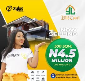 Residential Land Land for sale Etile Court, By Command Day Secondary School, Lafenwa Abeokuta Ogun