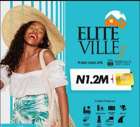 Residential Land Land for sale Elite Ville Estate Phase2, Less Than 10Mins Drive be From Alaro-City. Epe Lagos