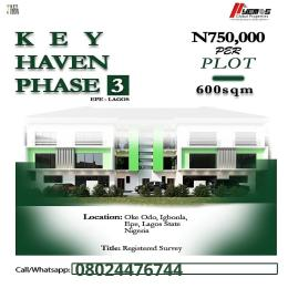 Land for sale Oke odo,igbonla Epe Road Epe Lagos