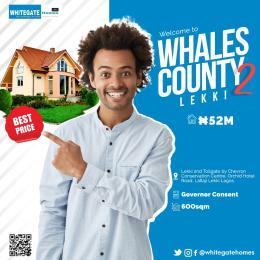 Land for sale Whales County Phase 2 chevron Lekki Lagos