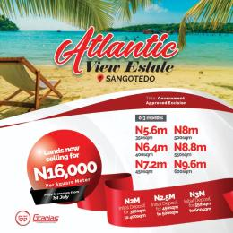 Land for sale Sangotedo Lagos