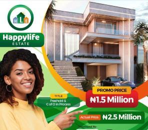 Residential Land Land for sale Happy Life Estate Opposite Christopher University. Mowe Obafemi Owode Ogun