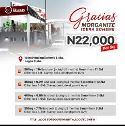 Residential Land Land for sale Gracias Morganite Estate Idera Scheme, Before Eleko Junction. Eleko Ibeju-Lekki Lagos