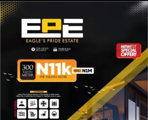Residential Land for sale Eagle's Pride Estate Poka. Epe Road Epe Lagos