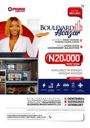 Mixed   Use Land Land for sale Boulevard alcazar Idera housing Scheme  Eleko Ibeju-Lekki Lagos