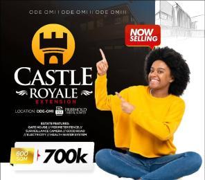 Residential Land Land for sale Castle Royale Estate Ode-Omi Free Trade Zone Ibeju-Lekki Lagos