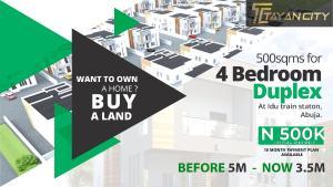4 bedroom Residential Land Land for sale Beside Idu Train Station Idu Idu Abuja