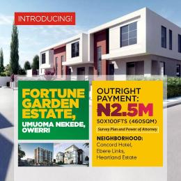 Residential Land Land for sale FORTUNE GARDEN ESTATE Umuoma Nekede is Magnificently and STRATEGICALLY located within the NEW-OWERRI, along Port Harcourt Road Owerr Owerri Imo