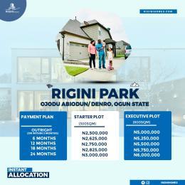 Mixed   Use Land for sale Rigini Park Ojodu Abiodun Ogun State Ojoolu Ifo Ogun