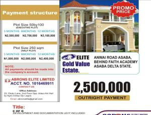 Mixed   Use Land Land for sale  ANWAI Road  Asaba Delta
