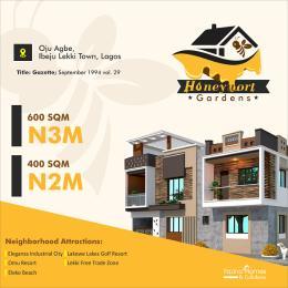 Mixed   Use Land for sale Honey Wort Gardens Oju Age Ibeju Lekki Town Lagos. Ikegun Ibeju-Lekki Lagos