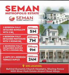 Residential Land for sale Semen Metropoli Estate Shared Fence With River Park Estate Airport Road Abuja Lugbe Abuja