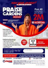 Residential Land Land for sale Praise Garden  Abakaliki Ebonyi