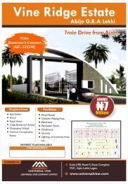 Residential Land for sale Vine Ridge Estate Abijo G.r.a Ajah Lagos Abijo Ajah Lagos