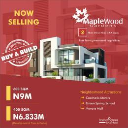 Serviced Residential Land for sale Maplewood Gardens Abule Oluwa Abijo G.r.a Abijo Ajah Lagos