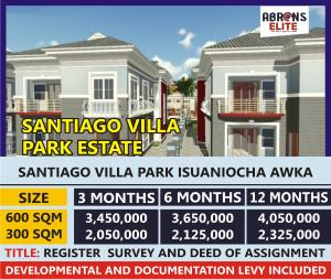 Mixed   Use Land Land for sale Santiago Park Villa Estate isuaniocha  Awka South Anambra