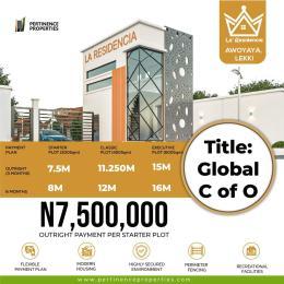 Residential Land Land for sale Oribanwa /la' Residencia / Lakowe Golf Road , Awoyaya Awoyaya Ajah Lagos