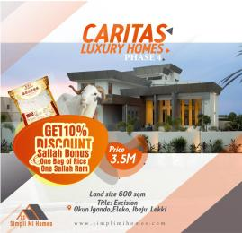 Mixed   Use Land for sale Caritax Luxury Homes Phase 4, Ibeju Lekki Eleko Ibeju-Lekki Lagos
