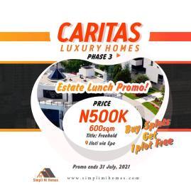 Mixed   Use Land for sale Caritax Luxury Homes Phase 4. Ilato Epe, Lagos State Epe Road Epe Lagos