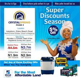 Mixed   Use Land for sale Kaiyetoro, Eleko Beach Road Behind Amen Estate, Close To Eleganza Eleko Ibeju-Lekki Lagos