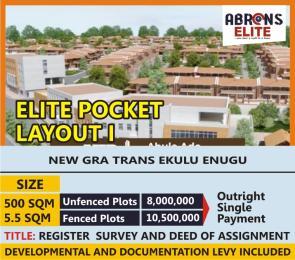 Mixed   Use Land Land for sale Elite Pocket layout, New G.R.A Trans Ekulu, Enugu Enugu Enugu