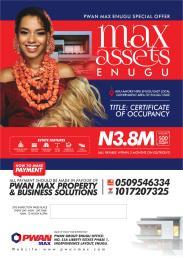 Residential Land Land for sale Max asset  Enugu Enugu