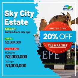 Residential Land for sale Sky City Estate Epe, Lagos Epe Road Epe Lagos