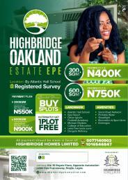 Land for sale Highbridge Oakland Estate by Atlantic Hall School Epe Epe Road Epe Lagos