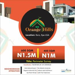 Residential Land for sale Orange Hills Ilara Epe Lagos Epe Road Epe Lagos