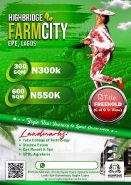 Serviced Residential Land for sale Farm City Esate Epe Epe Road Epe Lagos