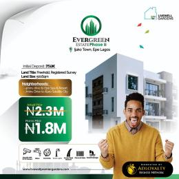 Mixed   Use Land for sale Evergreen Estate Phase 2, Ijako Town Epe Epe Road Epe Lagos