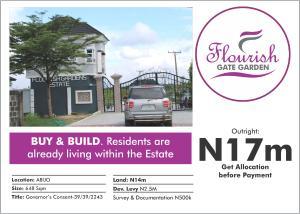 Residential Land Land for sale Flourish garden gate abijo lekki lagos Abijo Ajah Lagos