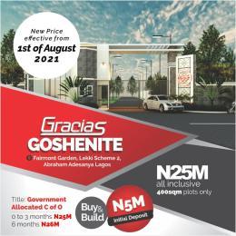 Residential Land for sale Garcia's Goshenite Estate Lekki Scheme 2 Abraham adesanya estate Ajah Lagos