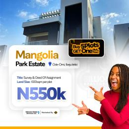Land for sale ode_ omi lbeju lekki  Ibeju-Lekki Lagos