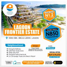 Mixed   Use Land Land for sale Lagoon Frontier Estate Ode omi ibeju Lekki Eleko Ibeju-Lekki Lagos
