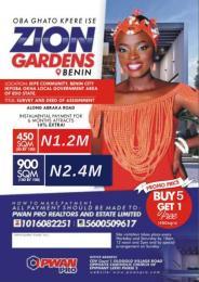 Residential Land Land for sale Zion Garden Benin Ikpe Community Benin City Ikpoba Okha Lga Central Edo