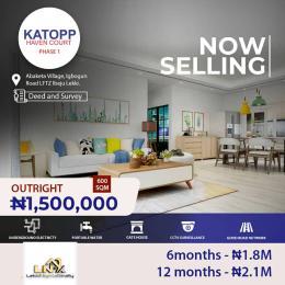 Residential Land for sale Kattopp Haven Estate Phase 1, Ibeju Lekki Lagos Free Trade Zone Ibeju-Lekki Lagos