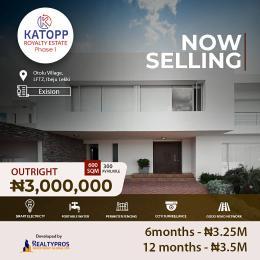 Residential Land for rent Katopp Royalty Phase 1, Ibeju Lekki Free Trade Zone Ibeju-Lekki Lagos