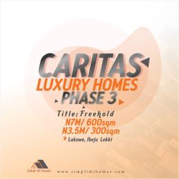 Residential Land for sale Caritax Luxury Homes Phase 3 Beside Lakowe Golf Course Ajah Lakowe Ajah Lagos