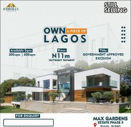 Mixed   Use Land Land for sale Max Garden Phase 3, With Government Approved Excision In A Built Up Area Buy And Build Eluju Town Eleko By Amen Estate Eluju Ibeju-Lekki Lagos