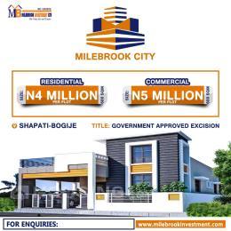 Mixed   Use Land for sale Milebrook City Bogije Ajah Lagos. Off Lekki-Epe Expressway Ajah Lagos