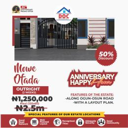 Residential Land Land for sale DOC GARDEN estate Mowe Obafemi Owode Ogun