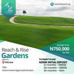 Residential Land Land for sale Mowe ofada Extension, Ogun State Abeokuta Ogun