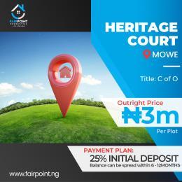 Residential Land Land for sale Mowe ofada, Ogun State Abeokuta Ogun