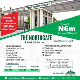 Residential Land for sale North Gate Estate Majek, Off Lekki Epe Express Way Abijo Ajah Lagos