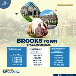 Mixed   Use Land for sale Brooks Town Ofada Ogun State Ofada Obafemi Owode Ogun