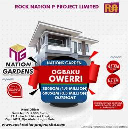 Residential Land Land for sale Nation garden Owerri Imo