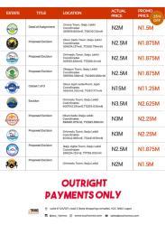 Residential Land for sale Hampton Court Onosa Town Ibeju Lekki Eleko Ibeju-Lekki Lagos