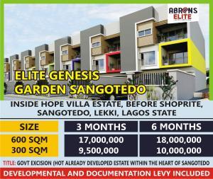 Mixed   Use Land for sale Elite Genesis Garden Phase 1, Sangotedo Lekki Lagos Sangotedo Ajah Lagos