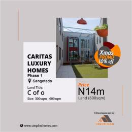Serviced Residential Land Land for sale Caritax Luxury Home off Monastery Road Sangotedo Ajay Lagos Sangotedo Ajah Lagos